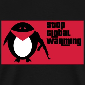 Stop Global Warming - Männer Premium T-Shirt
