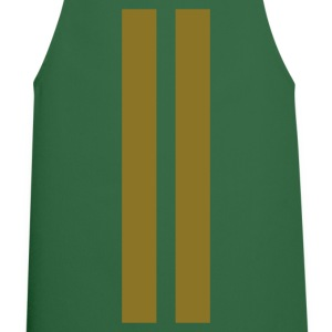 Green racing stripes  Aprons - Cooking Apron
