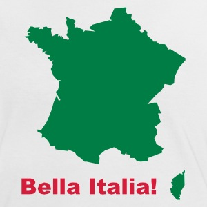 Girly-Shirt - Bella Italia - Frauen Kontrast-T-Shirt