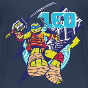TMNT Turtles Leo With Katana - Teenage Premium T-Shirt