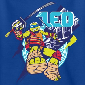 TMNT Turtles Leo Greift An - Kinder T-Shirt