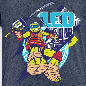 TMNT Turtles Leo With Katana - Premium-T-shirt barn