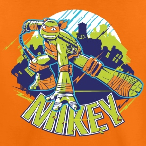 TMNT Turtles Mikey With Nunchucks - Teenager Premium T-shirt