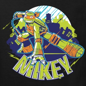 TMNT Turtles Mikey With Nunchucks - Kids' Organic T-shirt