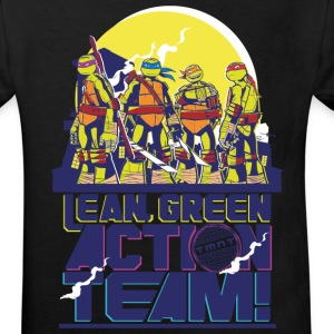 Tortues Ninja Lean Green Action Team - T-shirt Bio Enfant
