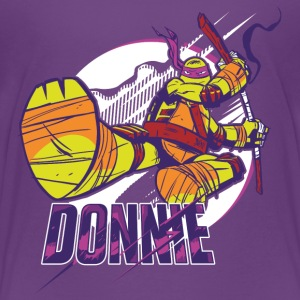TMNT Turtles Donnie With Bo Staff - Camiseta premium adolescente