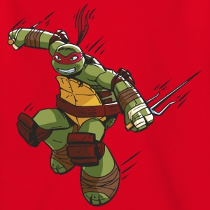 Tortues Ninja Raphael À L'Attaque - T-shirt Ado