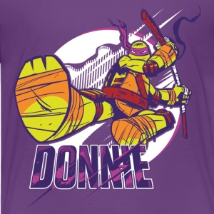 TMNT Turtles Donnie With Bo Staff - Camiseta premium niño