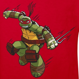 TMNT Turtles Raphael Ready For Action - Kids' Organic T-shirt