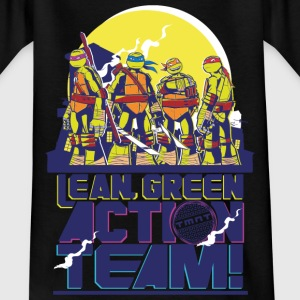 TMNT Turtles Lean Green Action Team - Børne-T-shirt