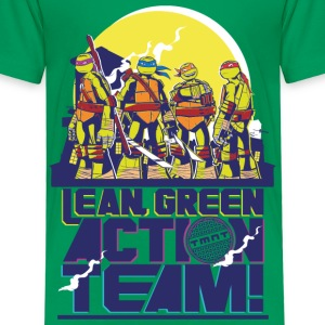 TMNT Turtles Lean Green Action Team - Kinder Premium T-Shirt