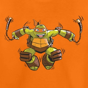 TMNT Turtles Michelangelo Springt - Teenager Premium T-Shirt