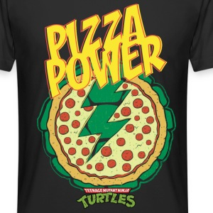 TMNT Turtles Pizza Power Shield - Długa koszulka męska urban style