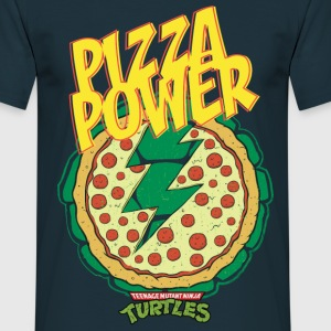 Tortues Ninja Pizza Power Carapace - T-shirt Homme