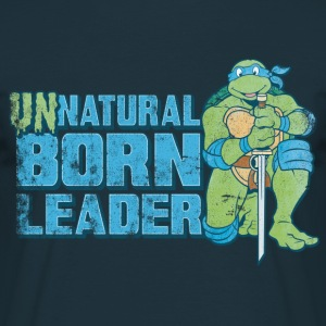 TMNT Turtles Leonardo Unnatural Born Leader - T-shirt herr
