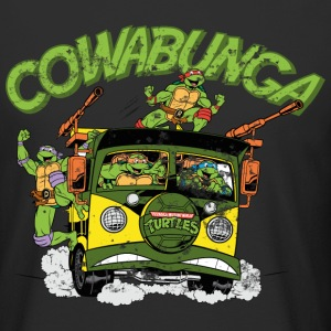 Tortues Ninja Sur Van Cowabunga - T-shirt long homme