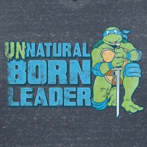 TMNT Turtles Leonardo Unnatural Born Leader - Vrouwen T-shirt met V-hals