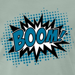 BOOM!, Comic Style Speech Bubble Bang, Kapow, Pow  - Men's Premium T-Shirt