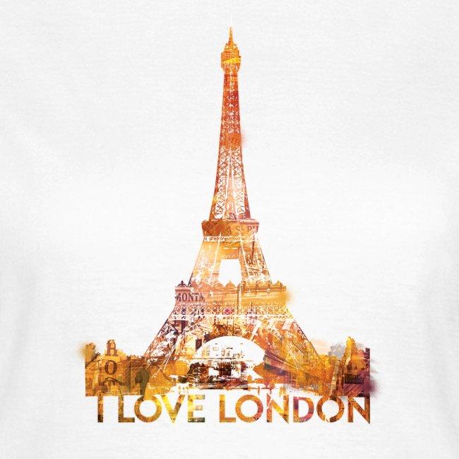 I love London 2 vrouwen t-shirt