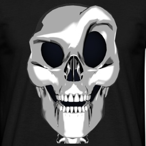 Crazy Smart Skull - T-skjorte for menn