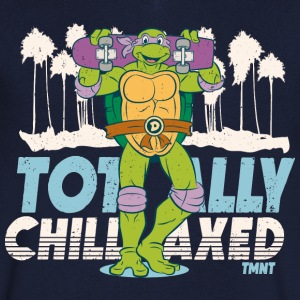TMNT Turtles Donatello Totally Chillaxed - T-shirt med v-ringning herr