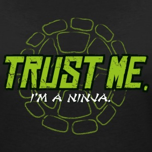 TMNT Turtles Trust Me I'm A Ninja Shield - Women's V-Neck T-Shirt