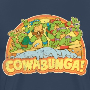 TMNT Teenage Mutant Surfing Turtles - Koszulka męska Premium