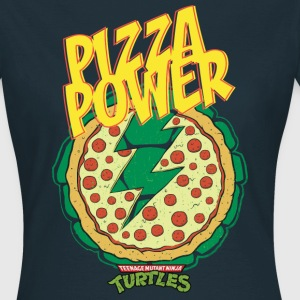 TMNT Turtles Pizza Power Shield - Women's T-Shirt