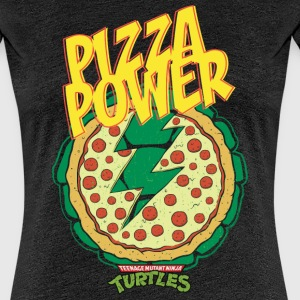 Tortues Ninja Pizza Power Carapace - T-shirt Premium Femme