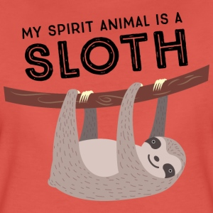 My Spirit Animal Is A Sloth Magliette - Maglietta Premium da donna