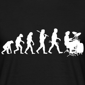Evolution of Rock Drums T-Shirts - Männer T-Shirt