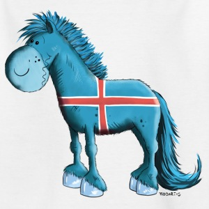 Icelandic Horse  Shirts - Teenage T-shirt