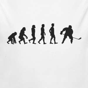 Evolution Ishockey Babybody - Økologisk langermet baby-body