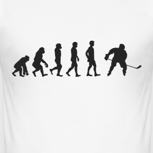 Evolution ice hockey T-Shirts - Men's Slim Fit T-Shirt