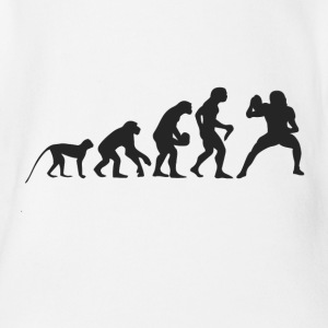 Evolution Football Babybody - Ekologisk kortärmad babybody