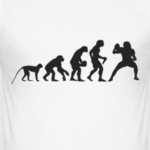 Evolution Football T-shirts - Herre Slim Fit T-Shirt