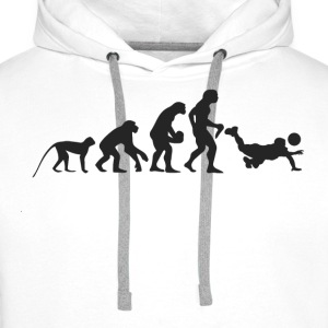 Evolution Volleyball Sweat-shirts - Sweat-shirt à capuche Premium pour hommes