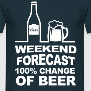 Weekend Forecast T-Shirts - Men's T-Shirt