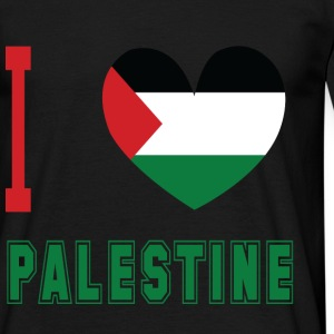 I Love Palestine 2 Black Mens - Men's T-Shirt