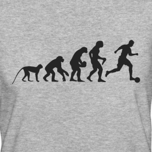 Evolution Fußball T-Shirts - Frauen Bio-T-Shirt