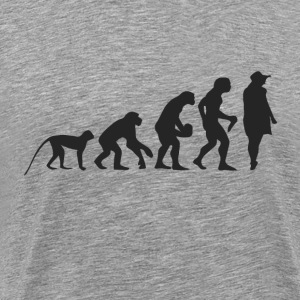 Evolution Model T-shirts - Herre premium T-shirt