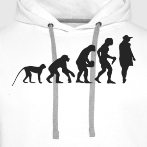 Evolution Model Sweatshirts - Herre Premium hættetrøje
