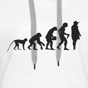 Evolution Model Sweatshirts - Dame Premium hættetrøje