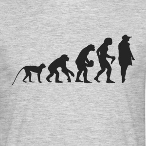 Evolution Model T-shirts - Mannen T-shirt