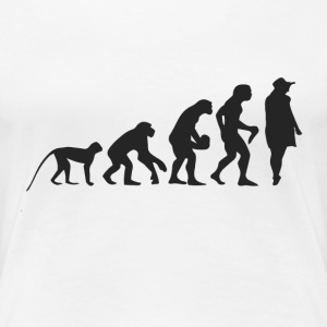 Evolution Model Tee shirts - T-shirt Premium Femme
