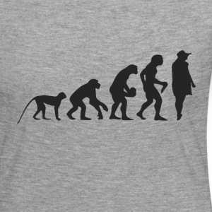 Evolution Model Long Sleeve Shirts - Women's Premium Longsleeve Shirt