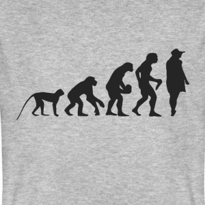Evolution Model T-shirts - Mannen Bio-T-shirt