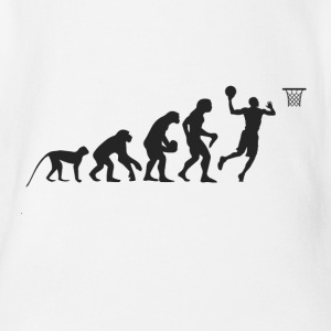 Evolution Basketball Baby Bodys - Baby Bio-Kurzarm-Body