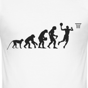 Evolution Basketball T-skjorter - Slim Fit T-skjorte for menn