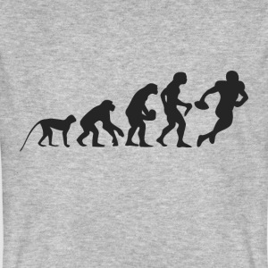 Evolution Football T-shirts - Mannen Bio-T-shirt